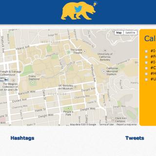 Cal Twitter Mapper